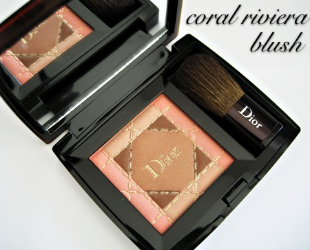 dior cristal collection coral riviera blush product shot