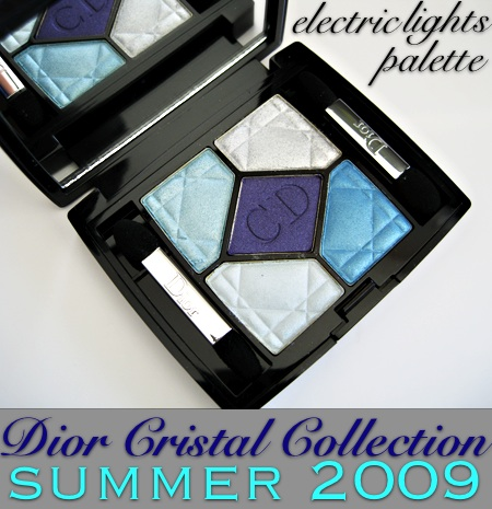 dior cristal collection electric lights palette