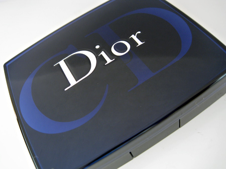 dior cristal collection electric lights palette swatches closed