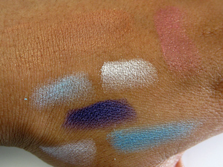 dior cristal collection summer 2009 swatches all no flash