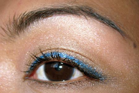 estee lauder duo tone eye pencil aqua teal bronze goddess 3