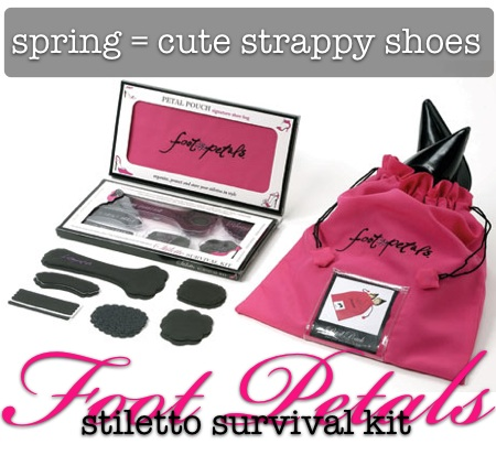 foot petals stiletto survival kit