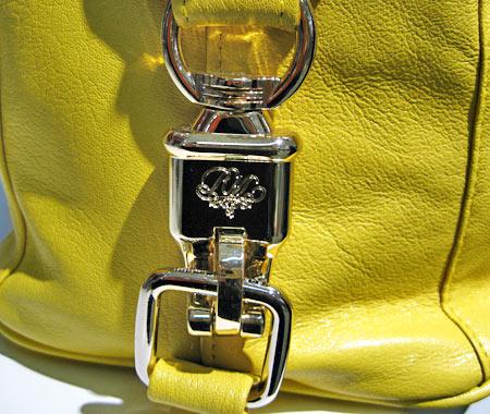 rebecca minkoff yellow detail