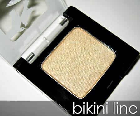 benefit velvet eyeshadows bikini line