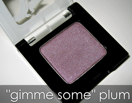 benefit velvet eyeshadows gimme some plum