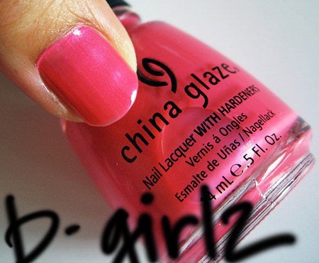 china glaze kicks b girlz