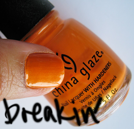 china glaze kicks breakin
