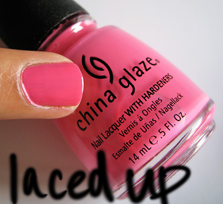 china glaze kicks laced up