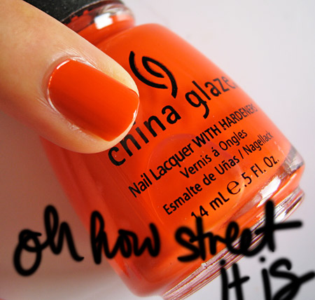 china glaze kicks oh how street it is