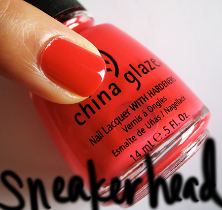 china glaze kicks sneaker head