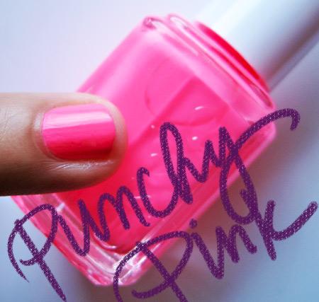 essie neon 2009 punchy pink