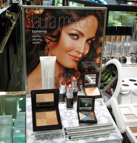 laura mercier bohemia collection display