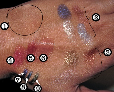 laura mercier bohemia collection swatches all