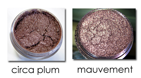 mac a rose romance circa plum pigment mauvement product shots