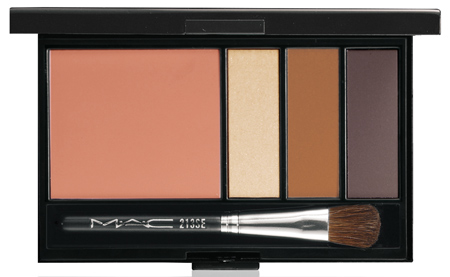 mac cosmetics neutral eye and cheek palette