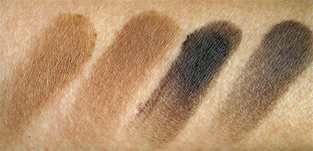 mac cosmetics soba cork concrete brun swatches no flash