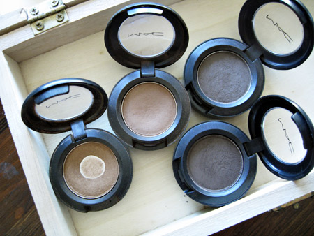 mac cosmetics soba cork concrete brun