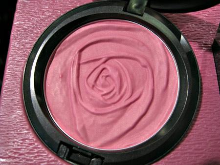 mac rose romance summer rose