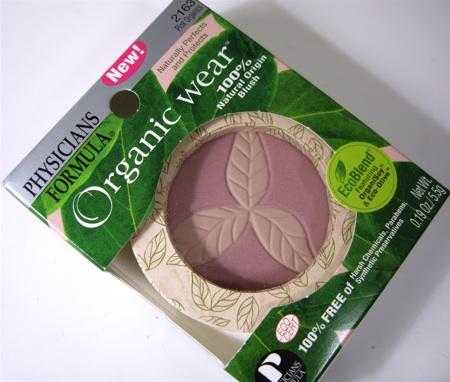 physicians formula pink organics blush