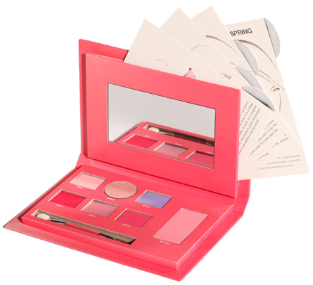 sonia kashuk spring treasures how to create the freshness of spring cosmetic palette 1