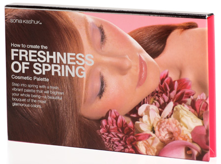 sonia kashuk spring treasures how to create the freshness of spring cosmetic palette 2