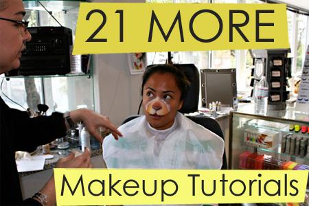 21 More Makeup Tutorials