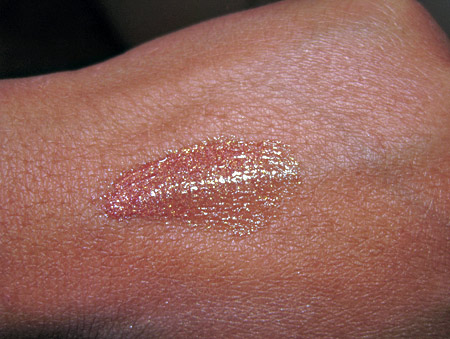 benefit cosmetics lipgloss almost famous swatch