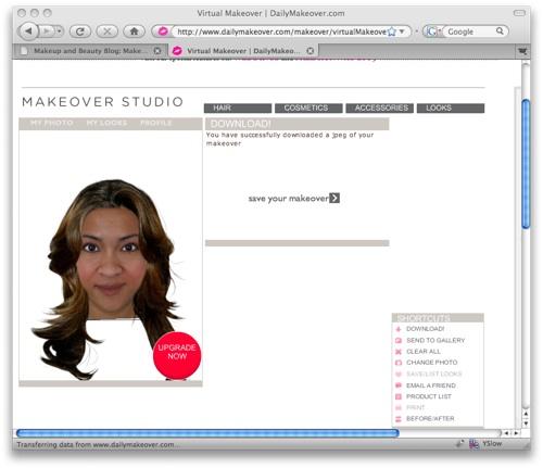 DailyMakeover - Eva Longoria-inspired look
