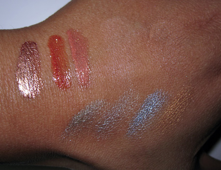 givenchy summer 2009 swatches all