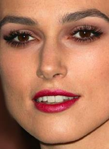 Keira Knightley makeup look