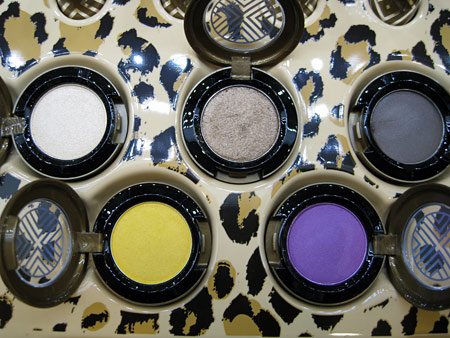 mac style warrior soft force tempting night manouevres bright future vibrant grape eyeshadows
