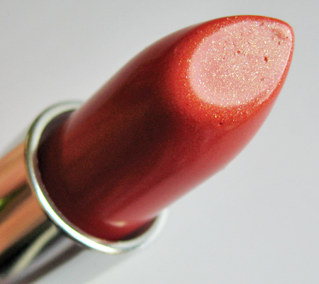prescriptives exhilarating lipcolor papaya closeup