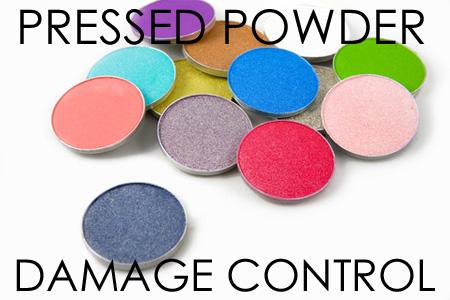 Pressed powder repair