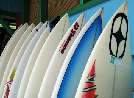 surfboards-north-shore