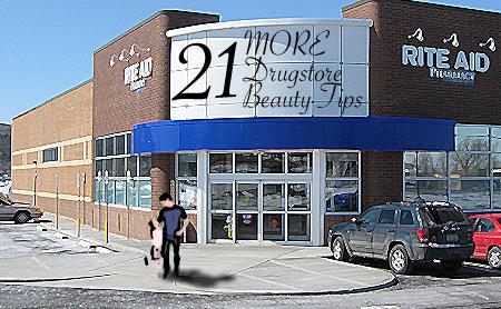 21 MORE Drugstore Beauty Tips