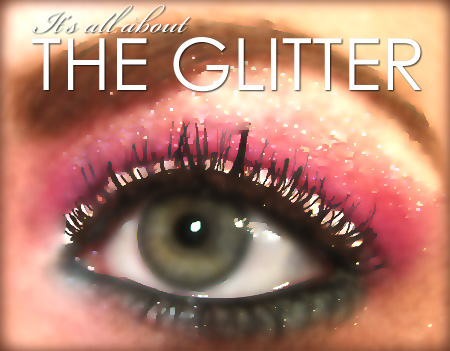 All about the glitter