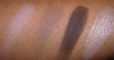 chanel les naturels de chanel swatches soft touch eyeshadows