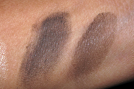 chanel mahogany mac showstopper swatches