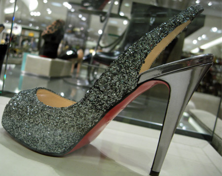 christian-louboutin-sparkly-silver-shoes