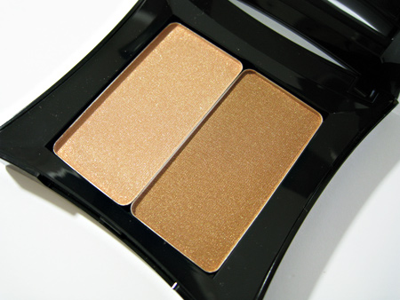 illamasqua sirens swatches bronzing duo glint and burnish 2