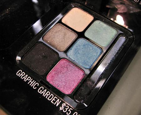 mac graphic gardens eye shadow palette