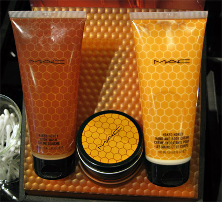 mac naked honey body wash hand and body cream skin salve