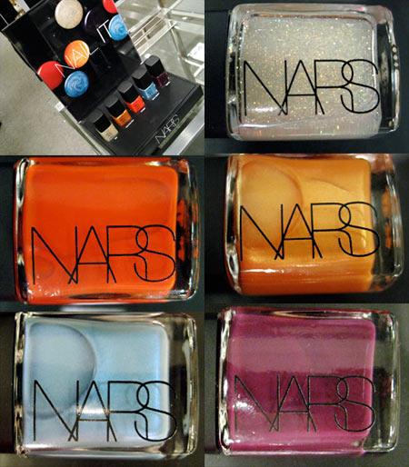 nars vintage 2009 nail polishes all