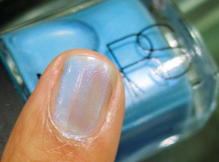 nars vintange 2009 nail polish blue lagoon