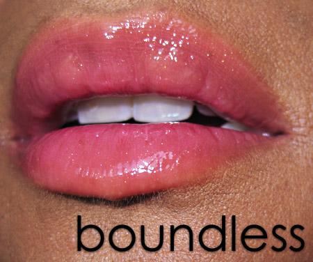 smashbox limitless long wear lip gloss spf 15 boundless