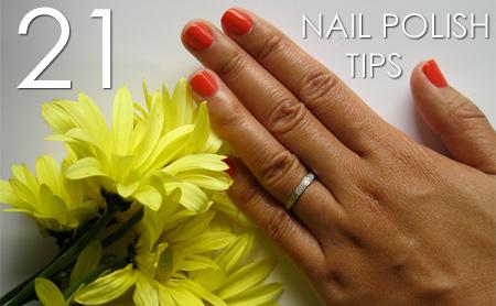 21 Nail Polish Tips