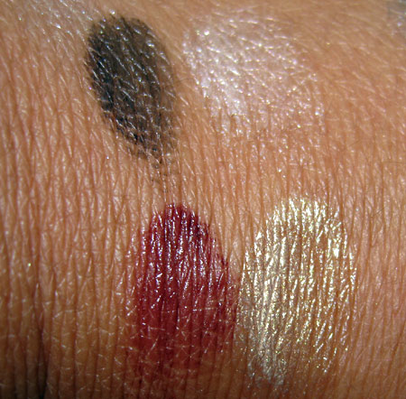 chanel venice collection fall 2009 swatches reviews eye gloss luminous cream quadra eye shadow