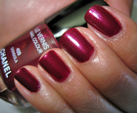 chanel venice fall 2009 499 gondola le vernis nail colour
