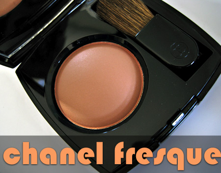 chanel venice fall 2009 swatches reviews fresque joues contraste