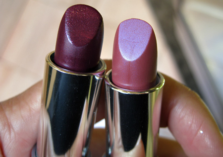 dior jazz club collection fall 2009 decadent plum 993 mauve royal 583 dior addict lip color